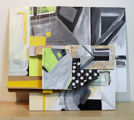 Contemporary Mixed Media Collage