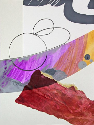 Contemporary Abstract Collage