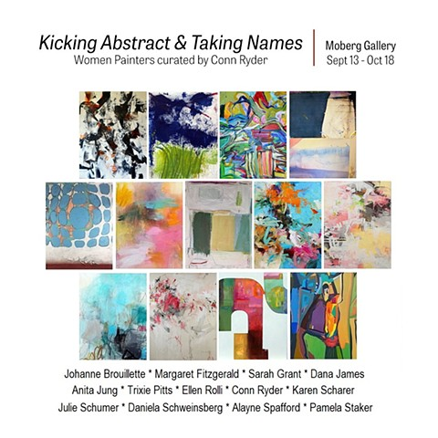 KICKING ABSTRACT AND TAKING NAMES September 10 - October 19, 2019