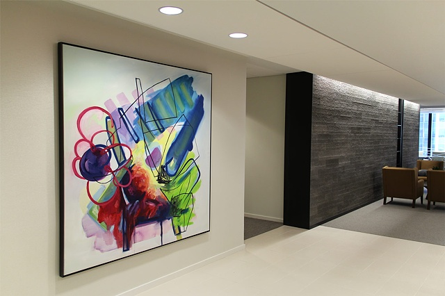 "Installation view of  ""Study 1"""