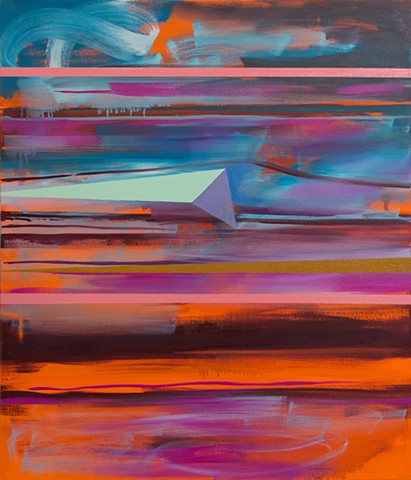 Abstract Study (stacked horizons no.5)