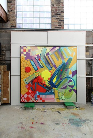 "Studio View of ""Study 11, Variation 2"""