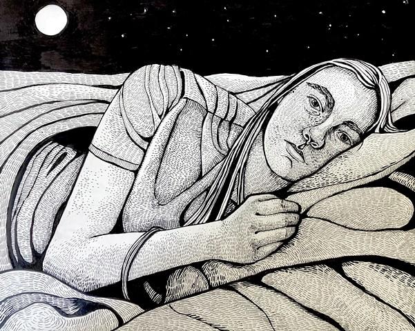 Jacob In Moonlight