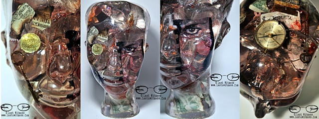 resin cast head