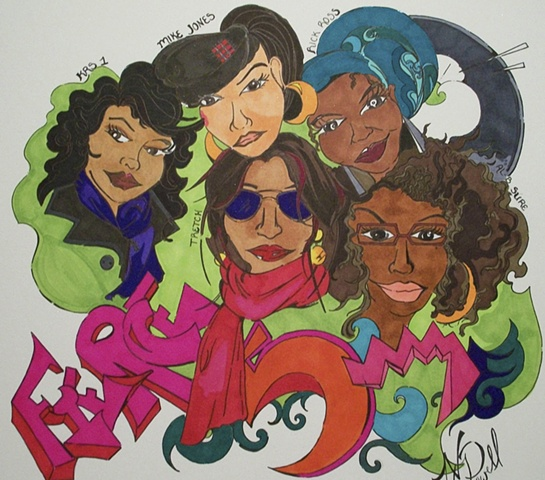 Fierce 5 Illustration