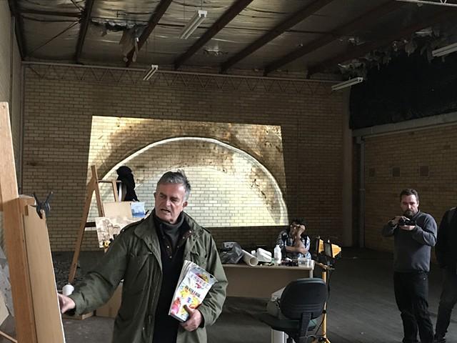 Open Studio Work - Iconic Industry - Duyshart - Mihajlovski