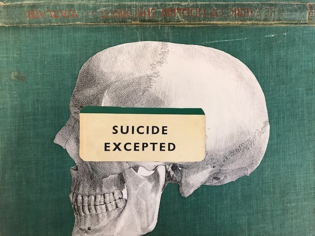 suicide excepted skull