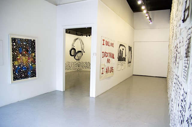 Installation View of Monologue