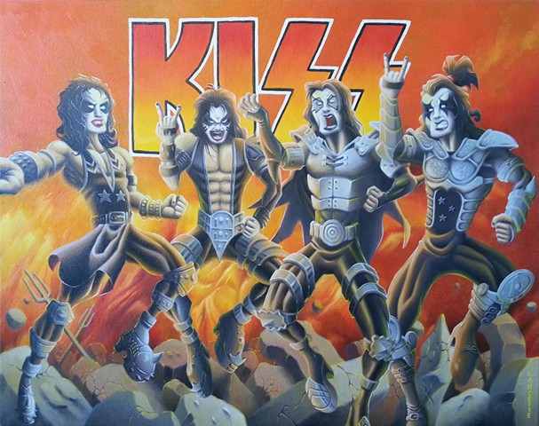 Kiss Painting 2