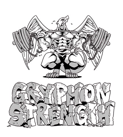 Gryphon Strength T-Shirt Design