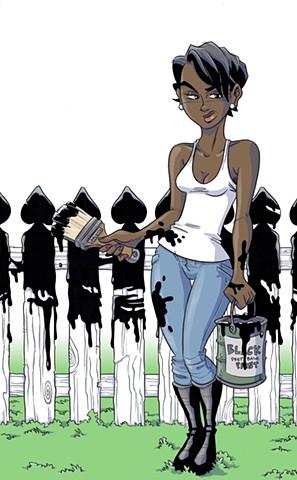 Black Picket Fences Cover/Fan Art