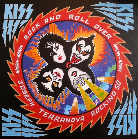 "Kiss: ""Rock And Roll Over"" Birthday Commission"