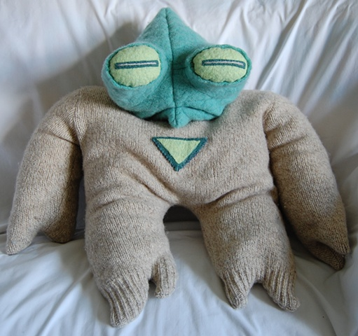 sweater monster, upcycled sweaters, UBz