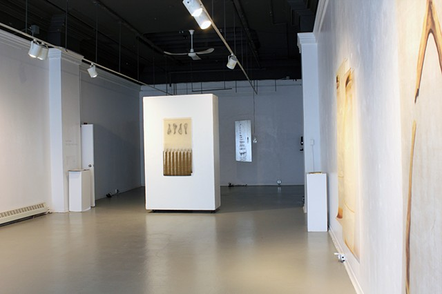 Soft Light, Hard Landing, Exhibition Installation View