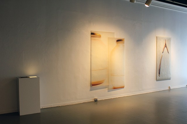 Installation View: Soft Light, Hard Landing