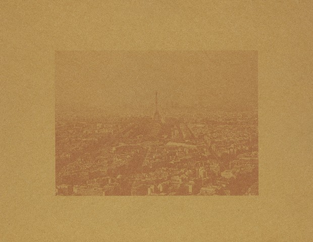 Paris, France in Brown (circa 1981)