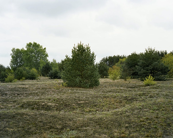 "East from ""Station-Z"" at Sachsenhausen (2010)"