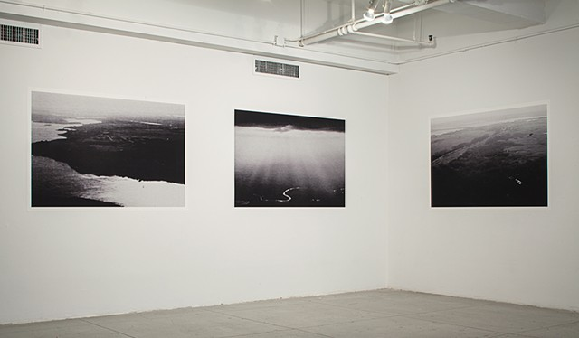 Installation of 'Untitled (Spies in the Sky)' (2013-Present) at the Elizabeth Foundation for the Arts (Jan-March 2014).