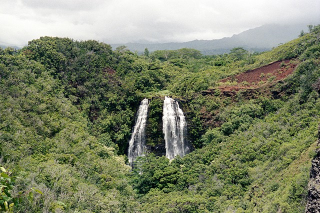 Hawaii (circa 1998 – His Waterfall), 2012-13  Detail
