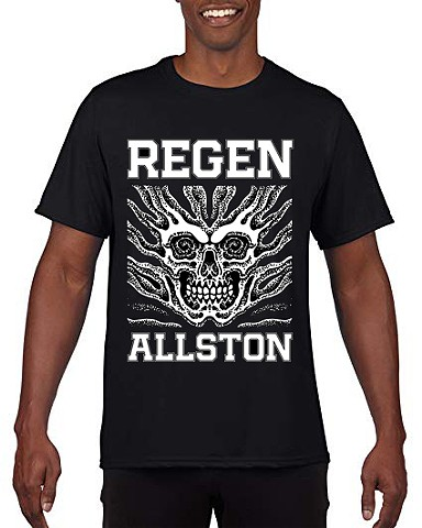 PRE-ORDER Black Skull Regen Shirt by William Jackman - XL