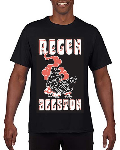 Regen Stoner (Black) Shirt by Frankie Mejia - LARGE