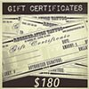 $180 Gift Certificate