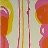 """2010 acrylic on panel 40x12"""""""