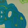 """2009 acrylic on panel  42x12"""""""