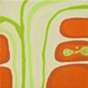 """2009 acrylic on panel  9x9"""""""