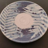 Fern Design Glaze Pattern