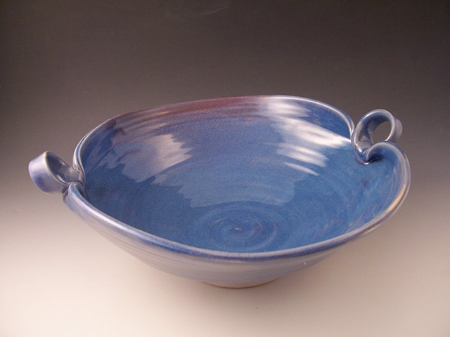 Serving Bowl with Loop Handles