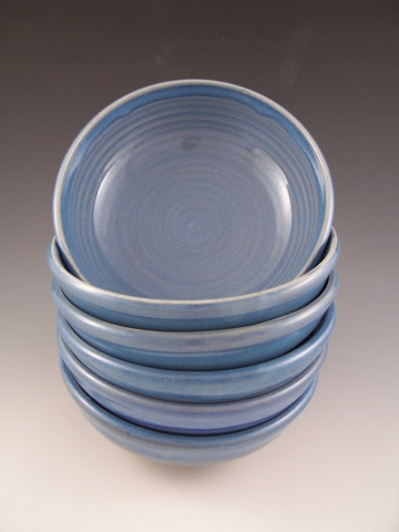 Salad/Cereal Bowls in Blue