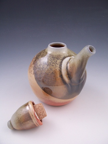 Ewer with corked lid