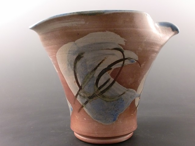 Wood Fired Twisted Vase