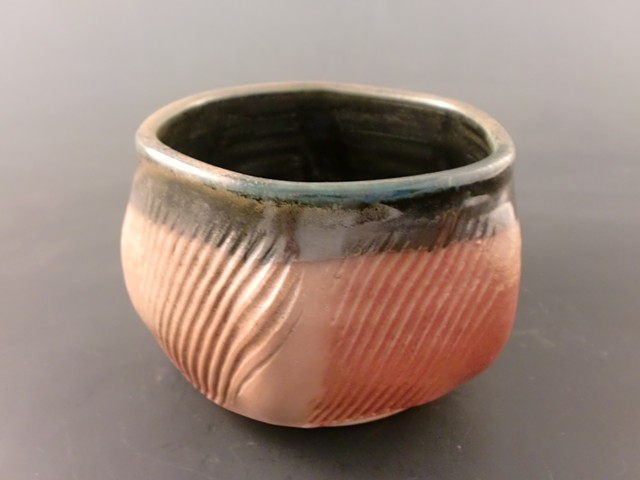 5 Sided Wood Fired Tea Bowl
