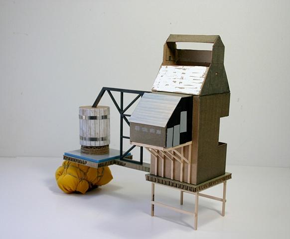 Sculpture, engineering, silos