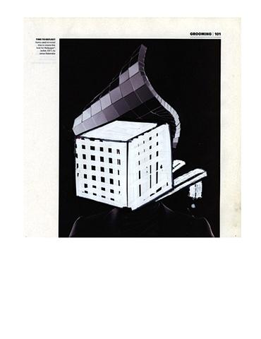 Wallpaper Magazine Drawing 3