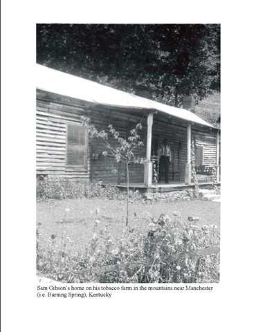 Sam Gibson's Home on His Tobacco Farm