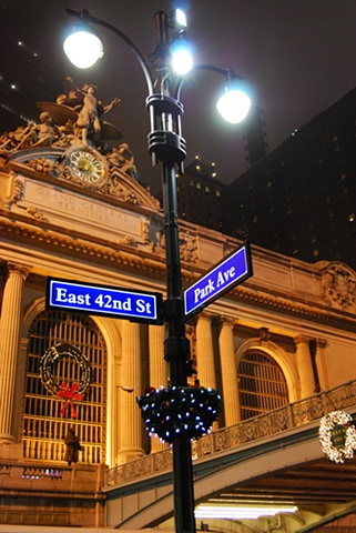 Grand Central at Christmas - NYC