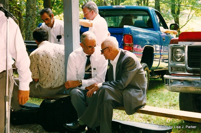 Meeting On the Hill - Men Talking Buchanan Co., VA