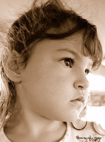 Pensive Girl - Amelia, VA