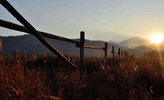 Sunset - Wyoming Field