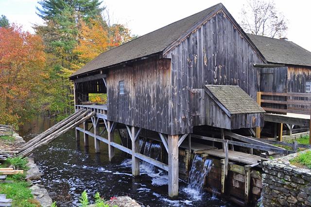 Gristmill - Old Sturbridge Village, Massachusetts