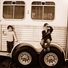 Kids on Horse Trailer - Farmville, VA