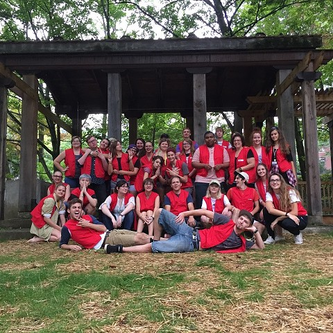 Foundations: Studio Research (Family Portrait, Red Vest performance)