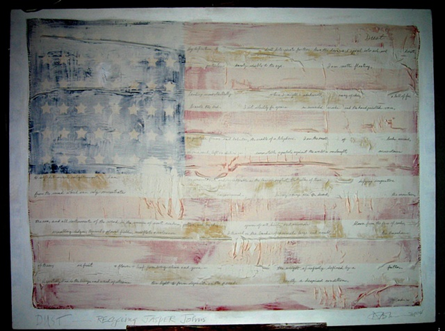 dust: recycling jasper johns