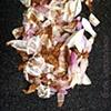 trampled petals