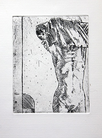 Untitled (with standing female - state 1)