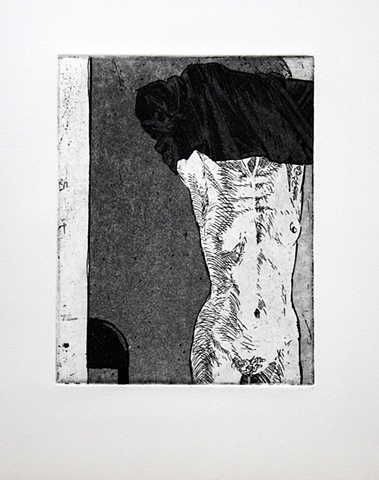 Untitled (with standing female - state 2)