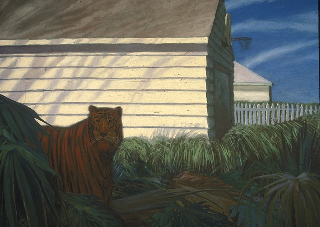 Untitled 30 (Tiger in the Suburbs)